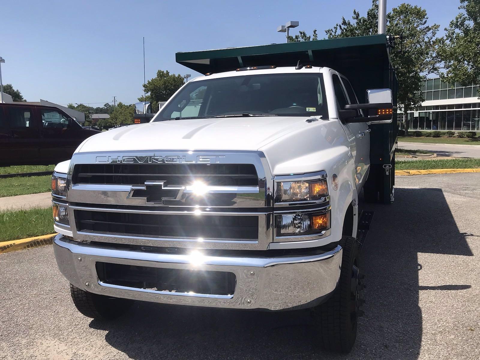 2021 Chevrolet Silverado 5500 Crew Cab DRW 4x4, Rugby Landscape Dump #CN16514 - photo 15