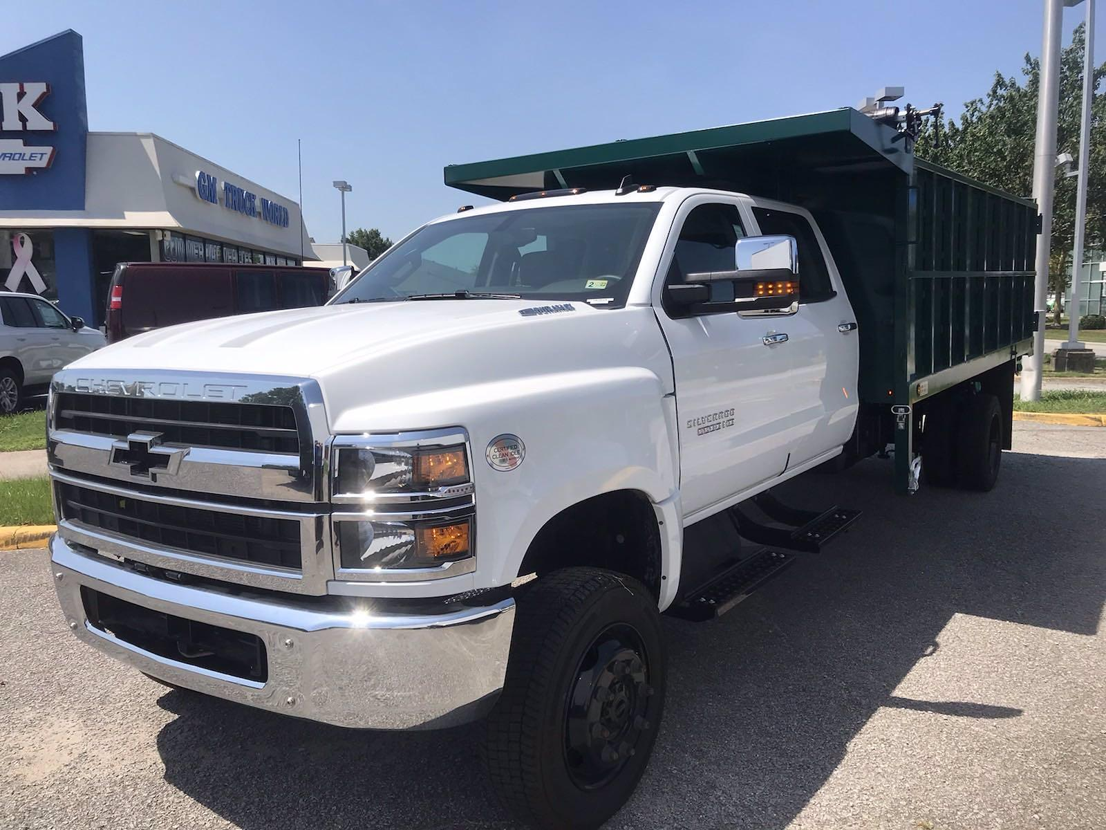 2021 Chevrolet Silverado 5500 Crew Cab DRW 4x4, Rugby Landscape Dump #CN16514 - photo 7