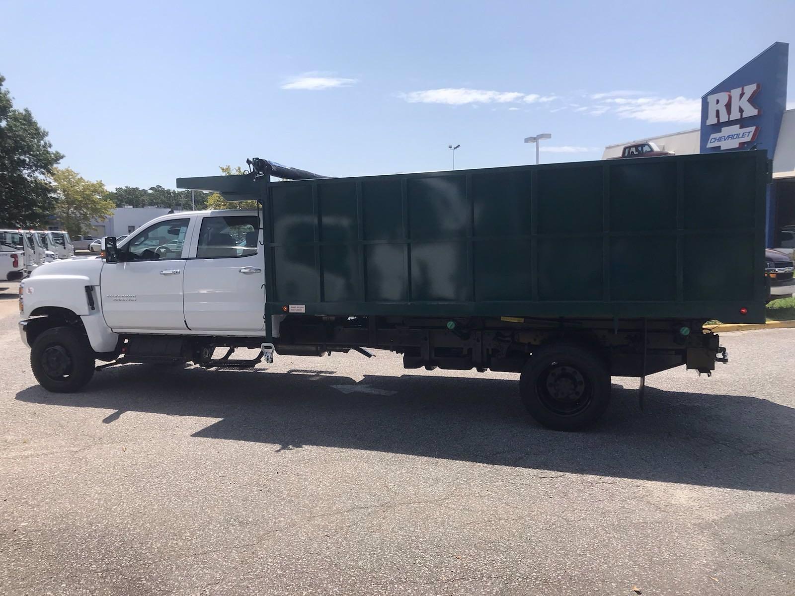 2021 Chevrolet Silverado 5500 Crew Cab DRW 4x4, Cab Chassis #CN16514 - photo 6
