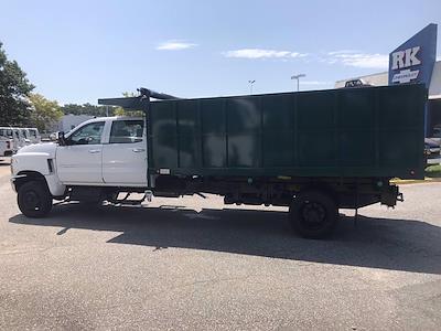 2021 Chevrolet Silverado 5500 Crew Cab DRW 4x4, Rugby Landscape Dump #CN16514 - photo 8