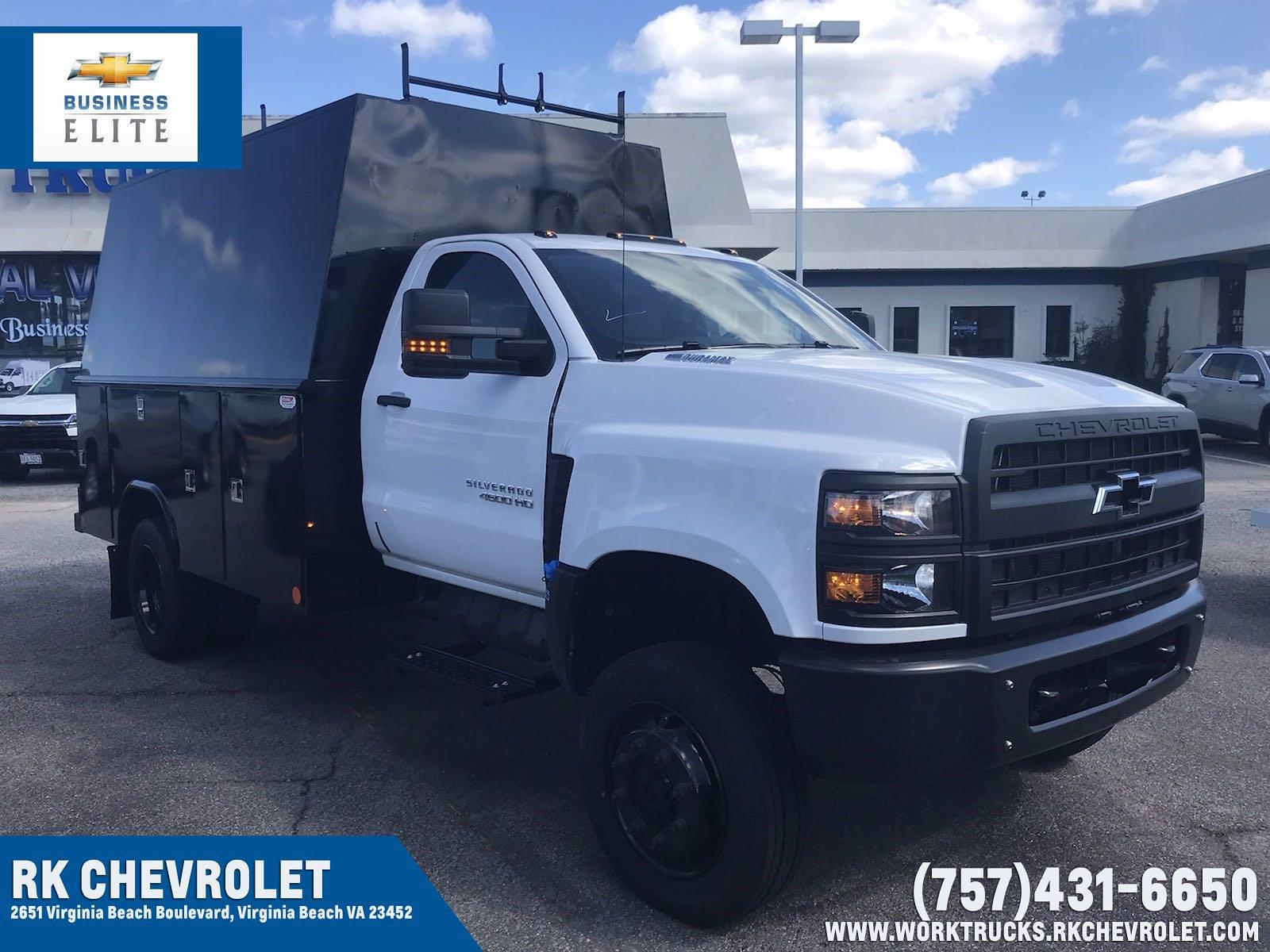 2021 Chevrolet Silverado 4500 Regular Cab DRW 4x4, Reading Service Body #CN16515 - photo 1