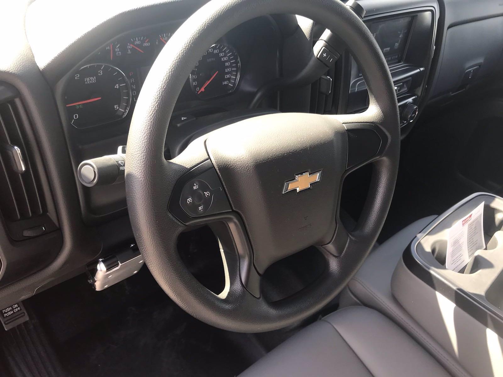 2021 Chevrolet Silverado 4500 Regular Cab DRW 4x4, Reading Panel Service Body #CN16515 - photo 34