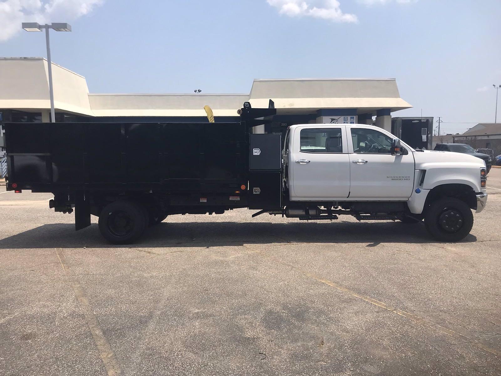 2021 Chevrolet Silverado 5500 Crew Cab DRW 4x4, Cab Chassis #CN16516 - photo 9