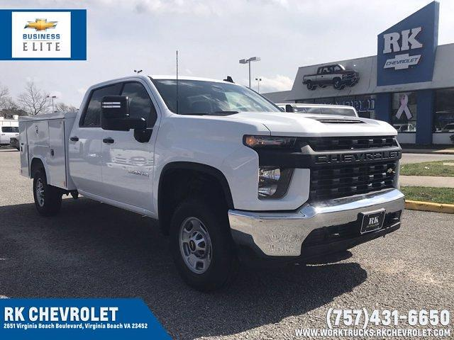 2021 Chevrolet Silverado 2500 Crew Cab 4x4, Reading Service Body #CN16690 - photo 1