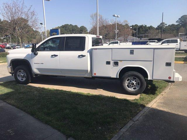 2021 Chevrolet Silverado 2500 Crew Cab 4x4, Reading Classic II Steel Service Body #CN16828 - photo 5