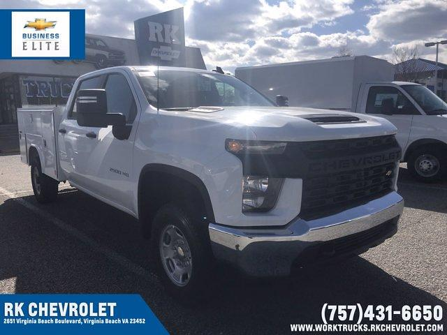 2021 Chevrolet Silverado 2500 Crew Cab 4x4, Reading Service Body #CN16829 - photo 1
