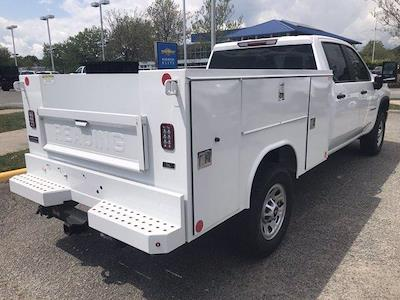 2021 Chevrolet Silverado 3500 Crew Cab 4x4, Reading SL Service Body #CN16835 - photo 2