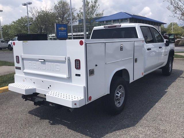 2021 Chevrolet Silverado 2500 Crew Cab 4x4, Reading SL Service Body #CN16866 - photo 2