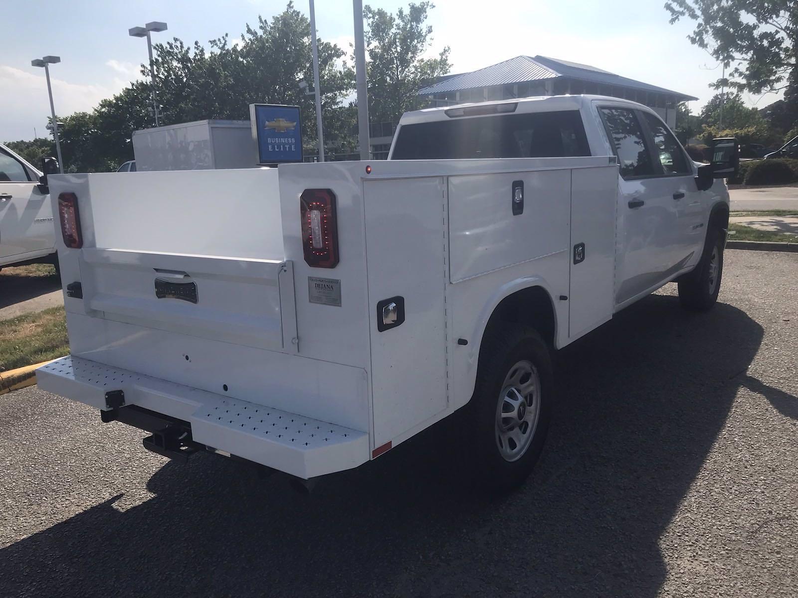 2021 Chevrolet Silverado 3500 Crew Cab 4x4, Knapheide Service Body #CN16951 - photo 1