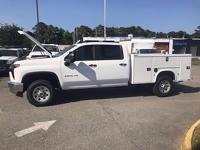 2021 Chevrolet Silverado 3500 Crew Cab 4x4, Knapheide Steel Service Body #CN16951 - photo 45