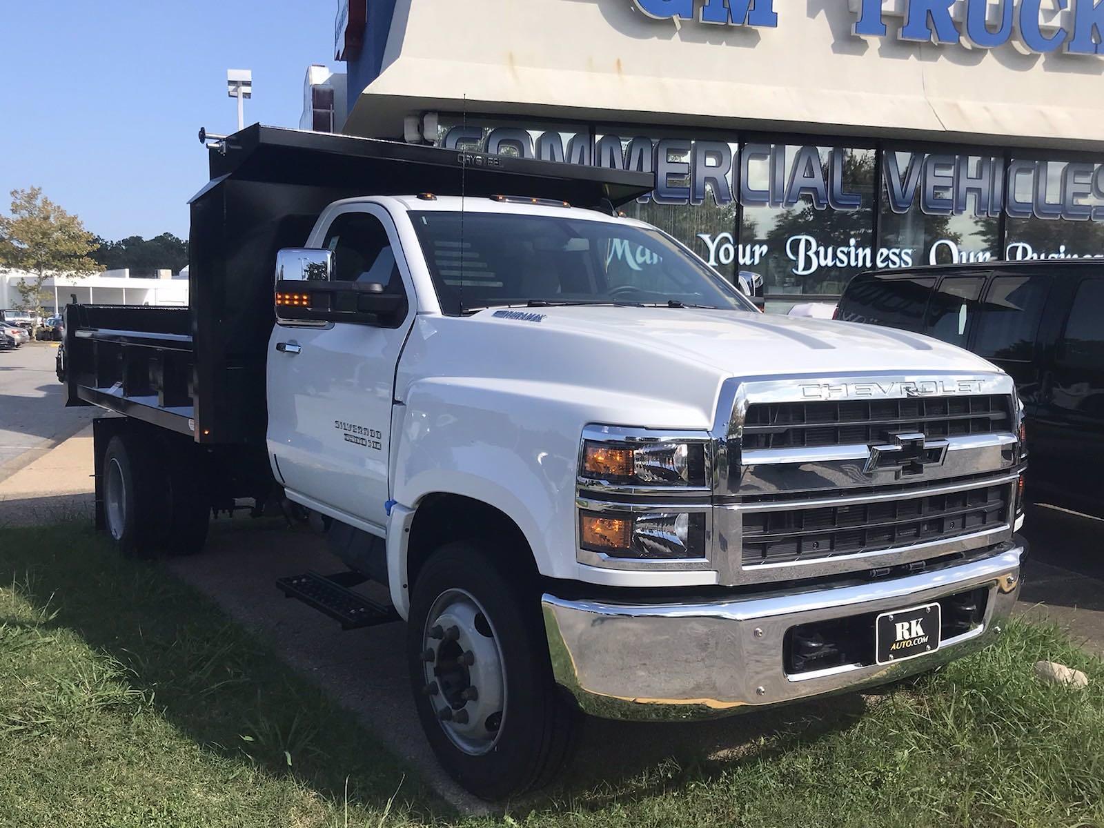 2021 Silverado 5500 Regular Cab DRW 4x2,  Crysteel E-Tipper Dump Body #CN17258 - photo 6