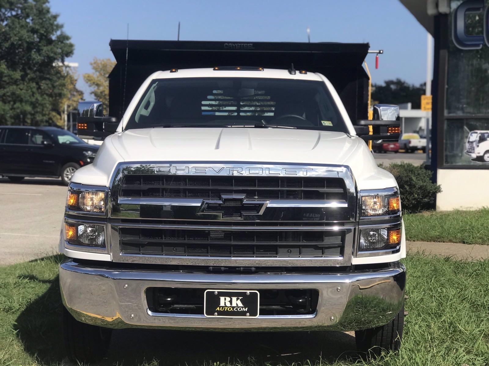 2021 Silverado 5500 Regular Cab DRW 4x2,  Crysteel E-Tipper Dump Body #CN17258 - photo 8