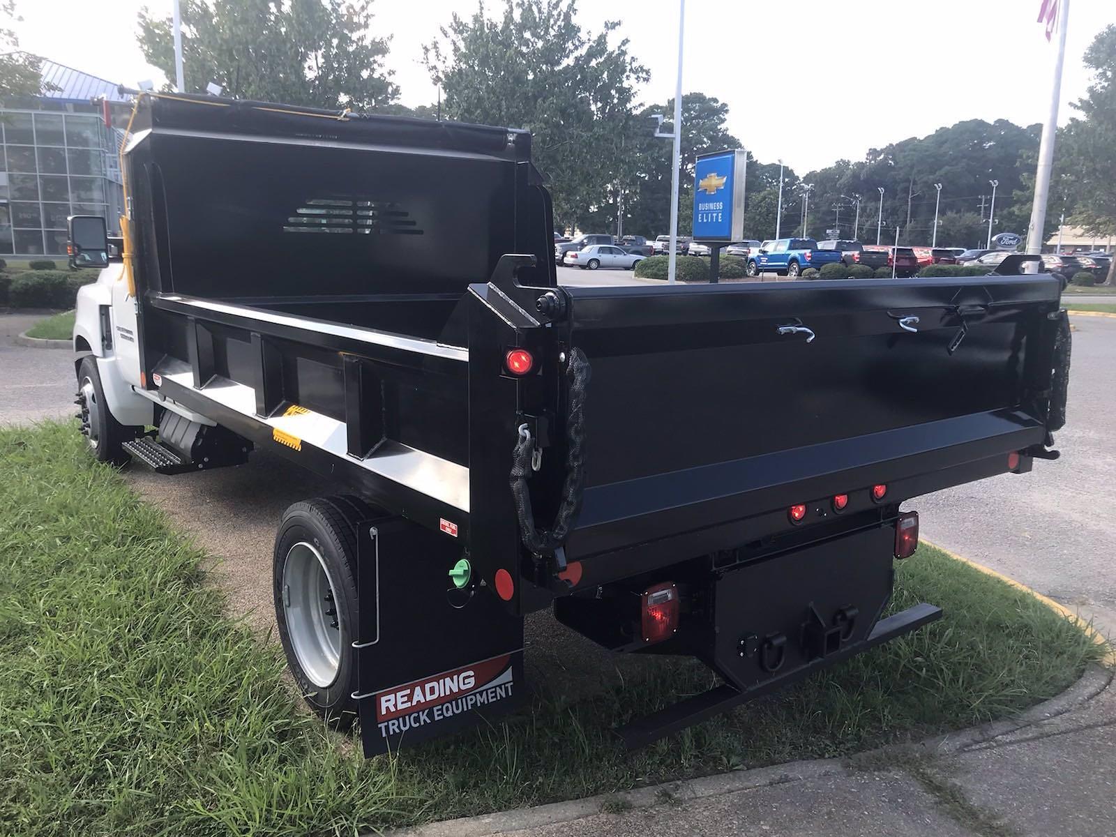 2021 Silverado 5500 Regular Cab DRW 4x2,  Crysteel E-Tipper Dump Body #CN17258 - photo 2