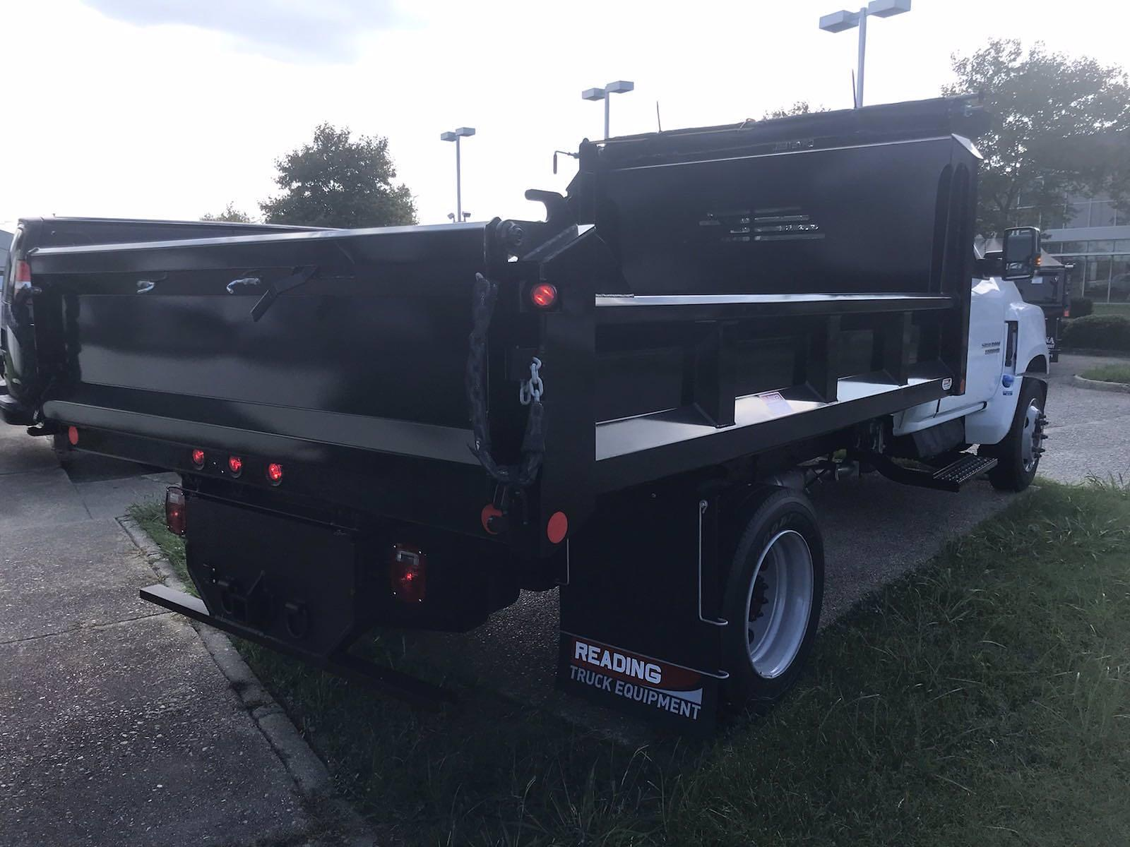 2021 Silverado 5500 Regular Cab DRW 4x2,  Crysteel E-Tipper Dump Body #CN17258 - photo 4