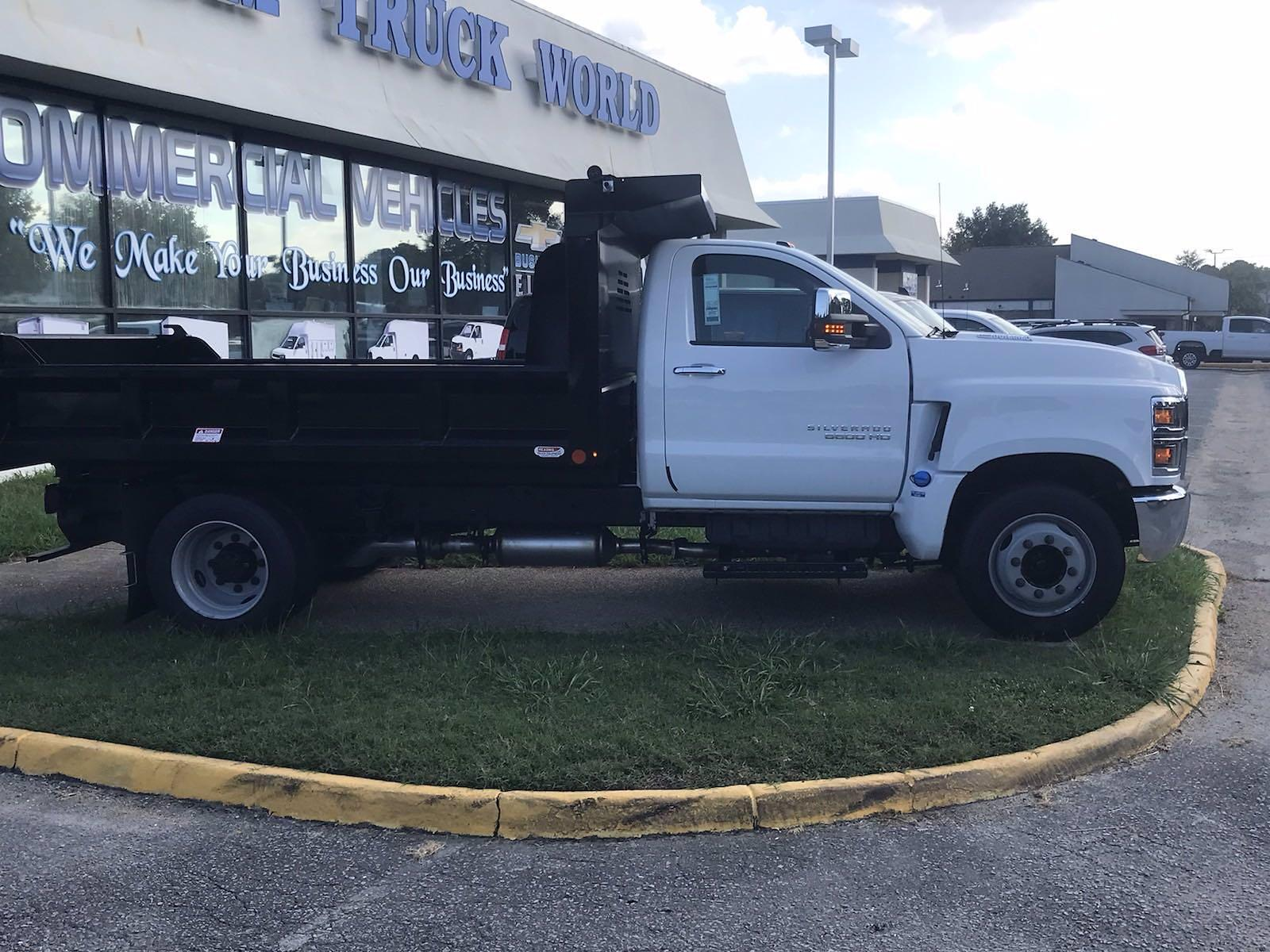 2021 Silverado 5500 Regular Cab DRW 4x2,  Crysteel E-Tipper Dump Body #CN17258 - photo 17