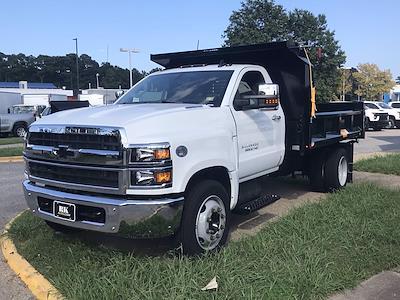 2021 Silverado 5500 Regular Cab DRW 4x2,  Crysteel E-Tipper Dump Body #CN17258 - photo 10