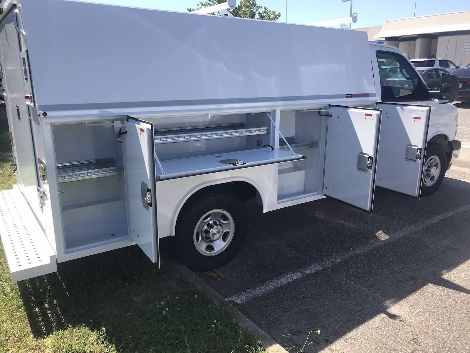 2021 Chevrolet Express 3500 4x2, Reading RVSL Service Utility Van #CN17391 - photo 31