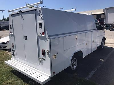 2021 Chevrolet Express 3500 4x2, Reading RVSL Service Utility Van #CN17391 - photo 2