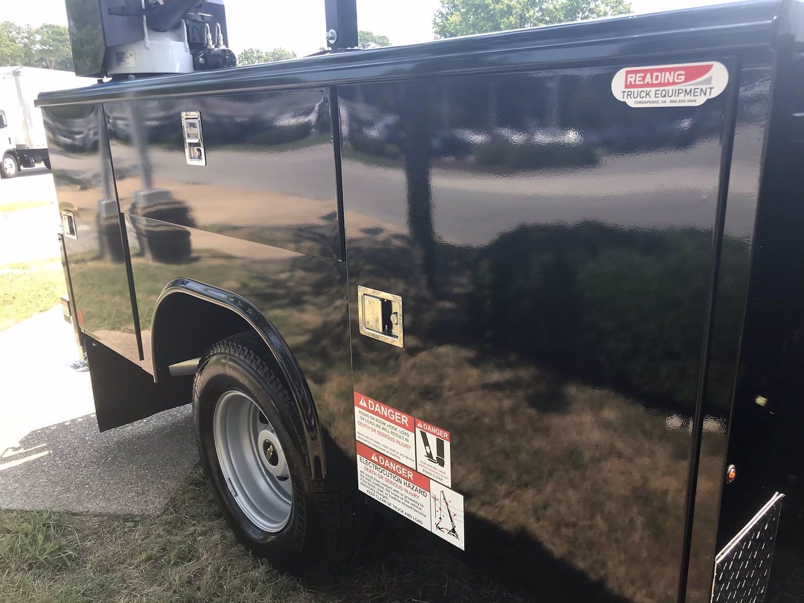2021 Chevrolet Silverado 3500 Crew Cab AWD, Reading Classic II Steel Mechanics Body #CN17720 - photo 16
