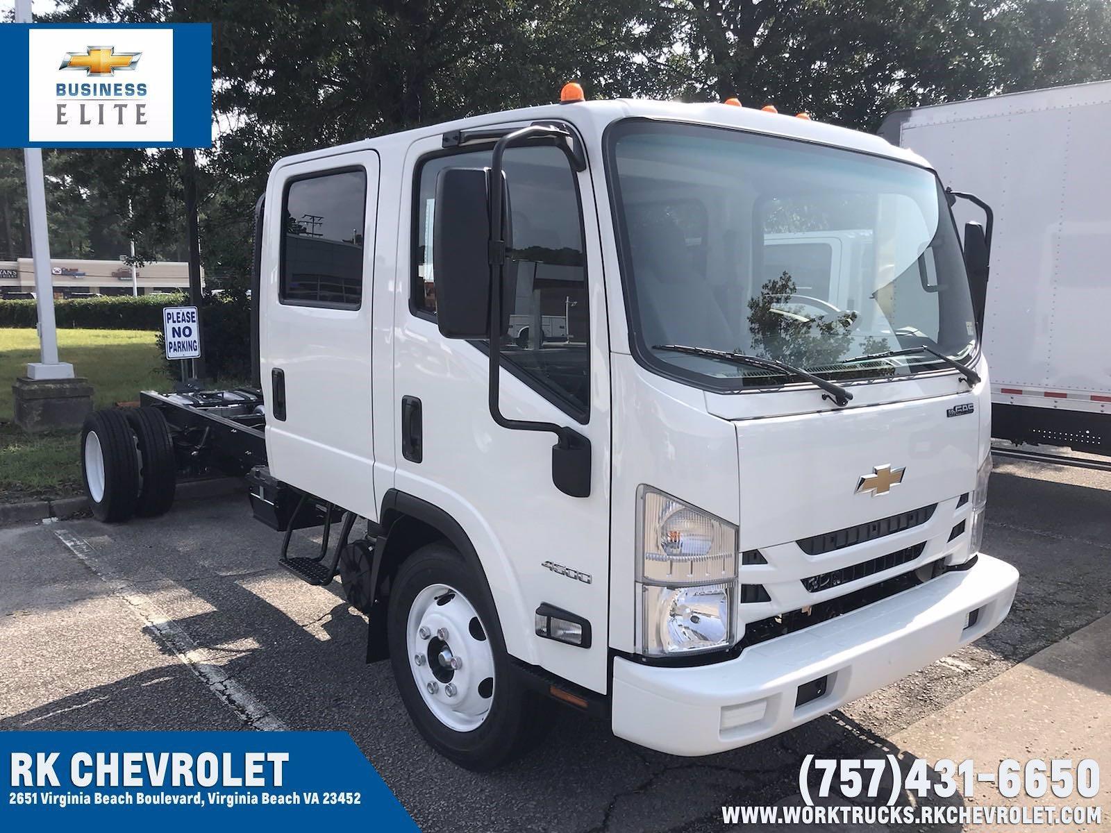 2021 Chevrolet LCF 4500 Crew Cab 4x2, Cab Chassis #CN17881 - photo 1