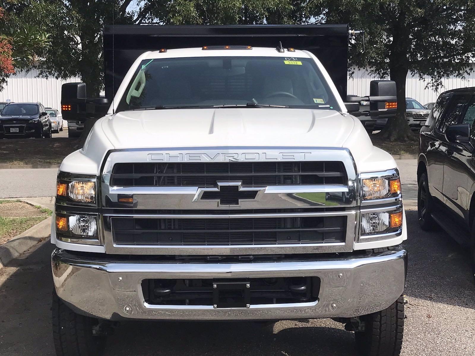 2021 Silverado 5500 Regular Cab DRW 4x4,  Rugby Eliminator LP Steel Dump Body #CN17908 - photo 4