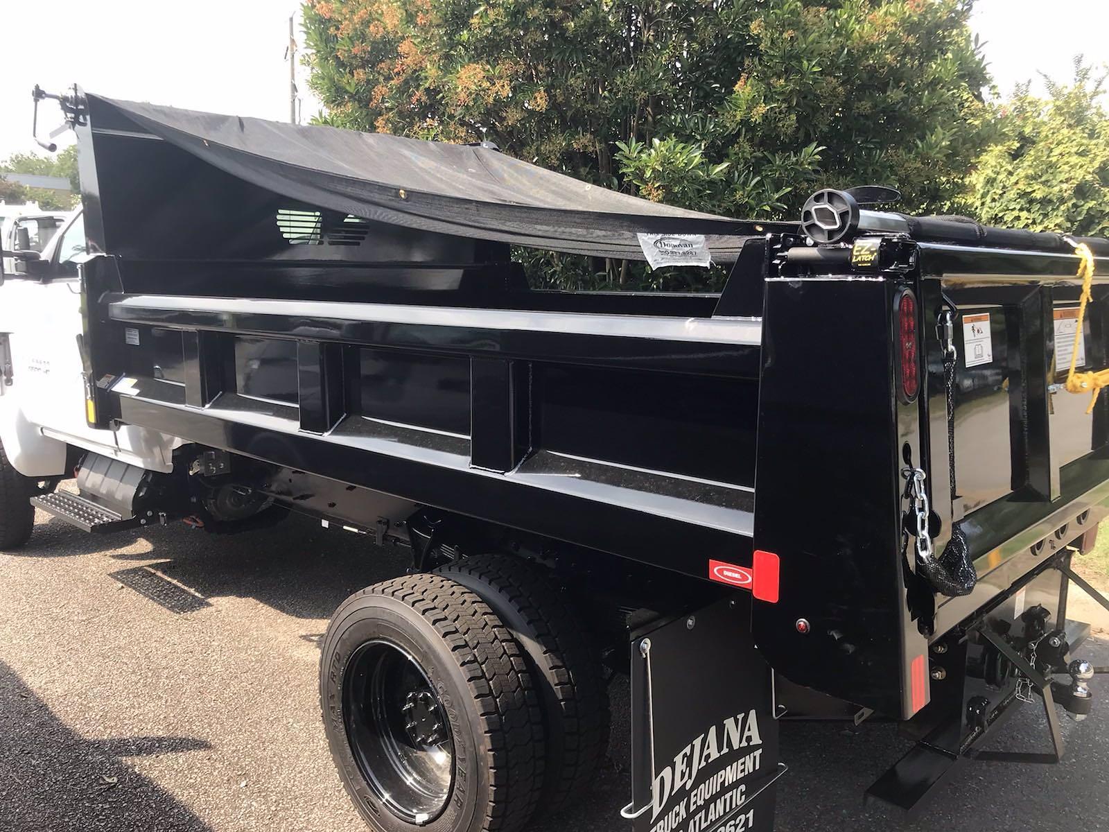 2021 Silverado 5500 Regular Cab DRW 4x4,  Rugby Eliminator LP Steel Dump Body #CN17908 - photo 9