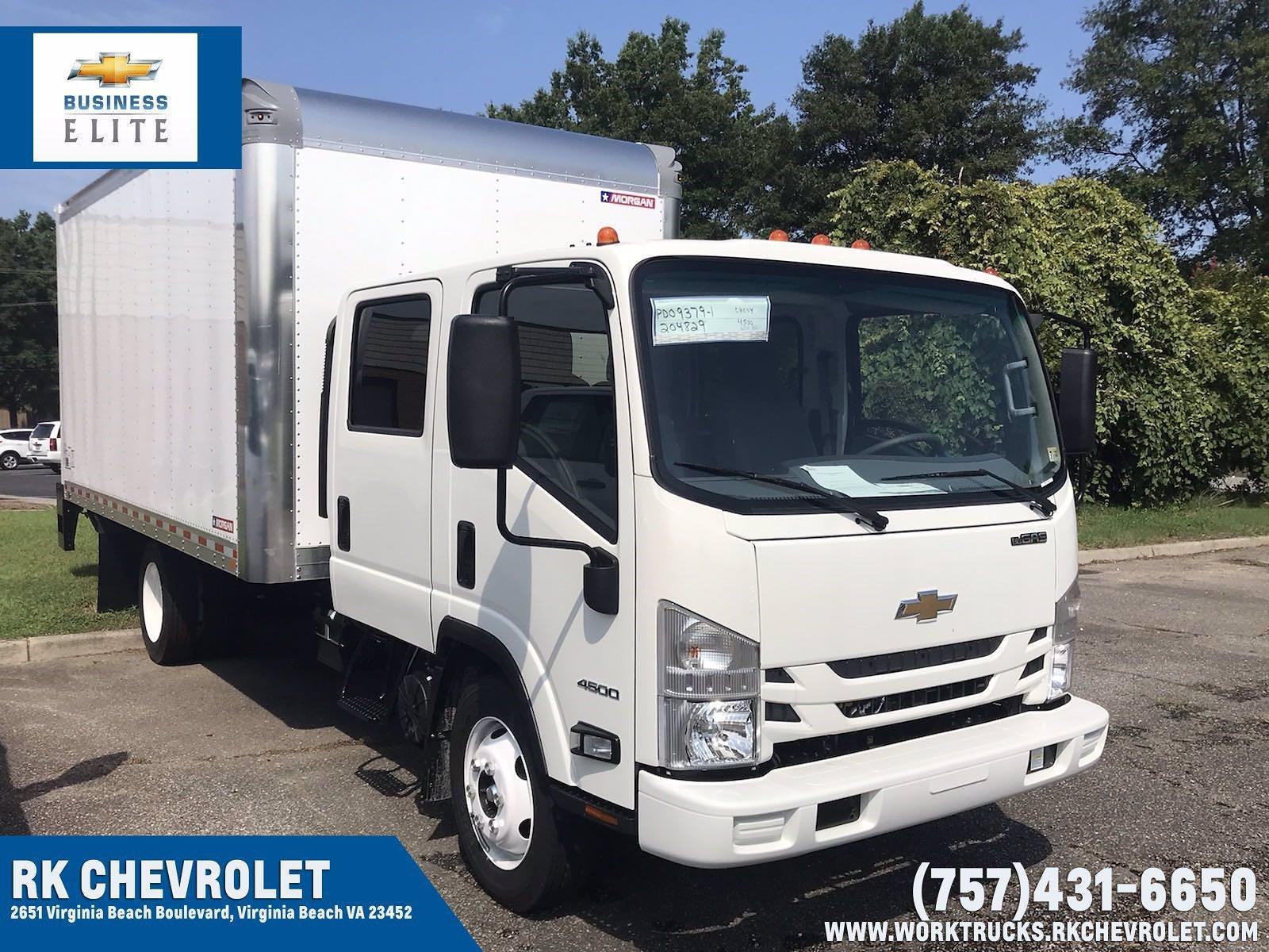 2021 Chevrolet LCF 4500 Crew Cab 4x2, Morgan Dry Freight #CN17918 - photo 1