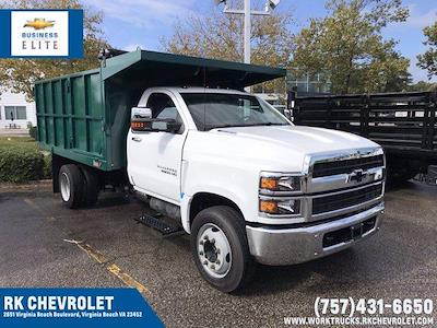 2021 Silverado 5500 Regular Cab DRW 4x2,  Johnie Gregory Truck Bodies, Inc. Landscape Dump #CN17980 - photo 1