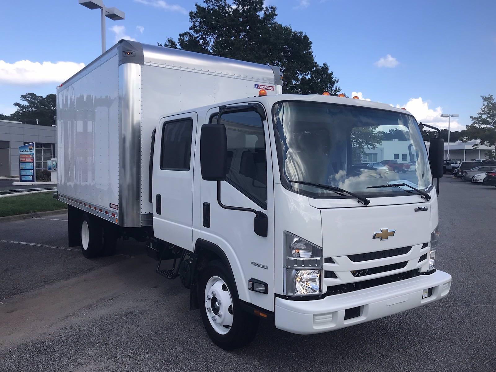 2021 LCF 4500 Crew Cab 4x2,  Morgan Truck Body Dry Freight #CN17981 - photo 3