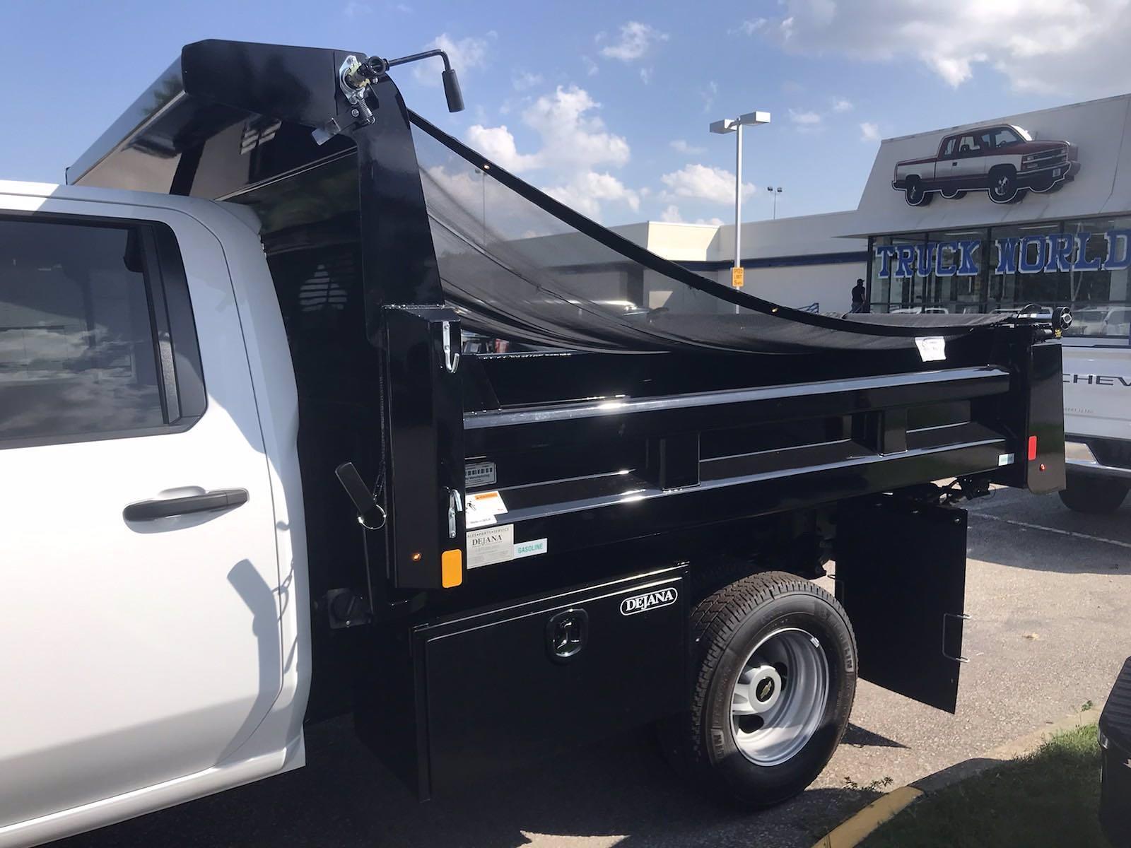 2021 Silverado 3500 Crew Cab AWD,  Rugby Eliminator LP Steel Dump Body #CN18124 - photo 6