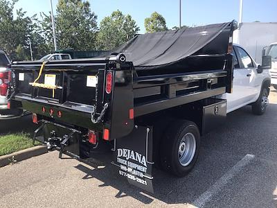 2021 Silverado 3500 Crew Cab AWD,  Rugby Eliminator LP Steel Dump Body #CN18124 - photo 2
