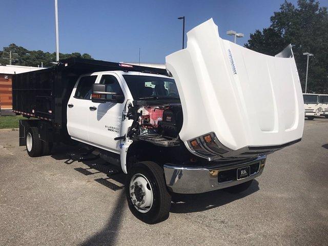 2021 Silverado 5500 Crew Cab DRW 4x4,  Morgan Truck Body LandscaperPRO Landscape Dump #CN18125 - photo 51