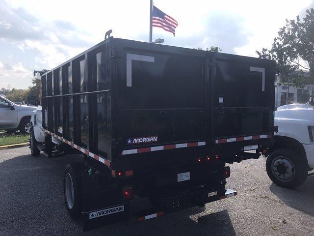2021 Silverado 5500 Crew Cab DRW 4x4,  Morgan Truck Body LandscaperPRO Landscape Dump #CN18125 - photo 7