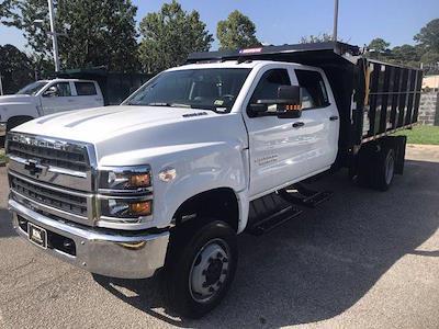 2021 Silverado 5500 Crew Cab DRW 4x4,  Morgan Truck Body LandscaperPRO Landscape Dump #CN18125 - photo 5