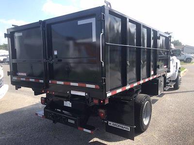 2021 Silverado 5500 Crew Cab DRW 4x4,  Morgan Truck Body LandscaperPRO Landscape Dump #CN18125 - photo 2