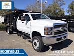 2021 Silverado 5500 Crew Cab DRW 4x4,  Morgan Truck Body LandscaperPRO Landscape Dump #CN18125 - photo 1