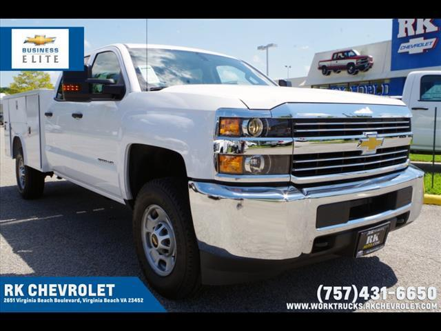 2018 Silverado 2500 Crew Cab 4x4,  Reading SL Service Body #CN85816 - photo 11