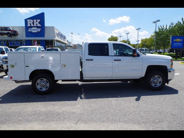 2018 Silverado 2500 Crew Cab 4x4,  Reading SL Service Body #CN85816 - photo 8