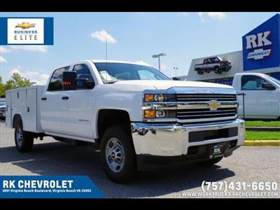 2018 Silverado 2500 Crew Cab 4x4,  Reading SL Service Body #CN85816 - photo 1