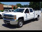 2018 Silverado 2500 Crew Cab 4x4,  Reading SL Service Body #CN85816 - photo 3