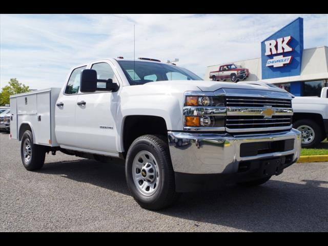 2018 Silverado 3500 Double Cab 4x2,  Reading SL Service Body #CN85921 - photo 1