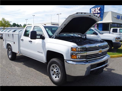 2018 Silverado 3500 Double Cab 4x2,  Reading SL Service Body #CN85921 - photo 38