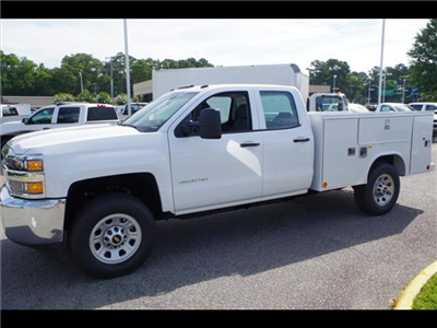 2018 Silverado 3500 Double Cab 4x2,  Reading SL Service Body #CN85921 - photo 6