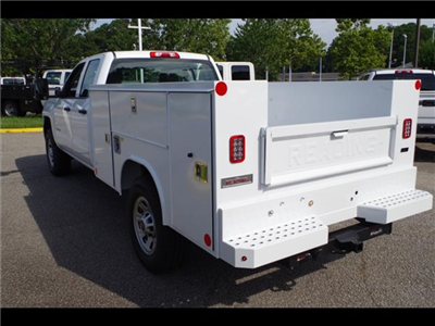 2018 Silverado 3500 Double Cab 4x2,  Reading SL Service Body #CN85921 - photo 4