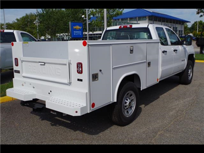 2018 Silverado 3500 Double Cab 4x2,  Reading SL Service Body #CN85921 - photo 2