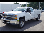2018 Silverado 3500 Double Cab 4x2,  Reading SL Service Body #CN85921 - photo 3