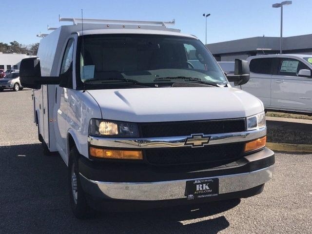 2018 Express 3500 4x2,  Reading Service Utility Van #CN87475 - photo 11