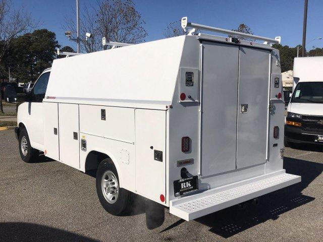 2018 Express 3500 4x2,  Reading Service Utility Van #CN87475 - photo 6