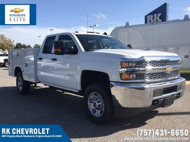 2019 Silverado 2500 Double Cab 4x4,  Knapheide Service Body #CN91018 - photo 1