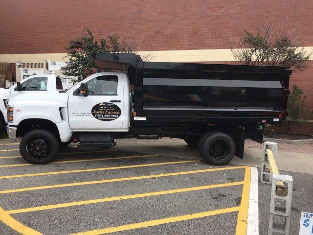 2019 Silverado Medium Duty Regular Cab DRW 4x4,  Rugby Landscape Dump #CN91019 - photo 3